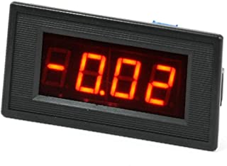 X-DREE DC 10-20A 3 1/2 Digital Red LED Display Panel Ammeter Ampere Meter (669b427c-a222-11e9-8d7c-4cedfbbbda4e)