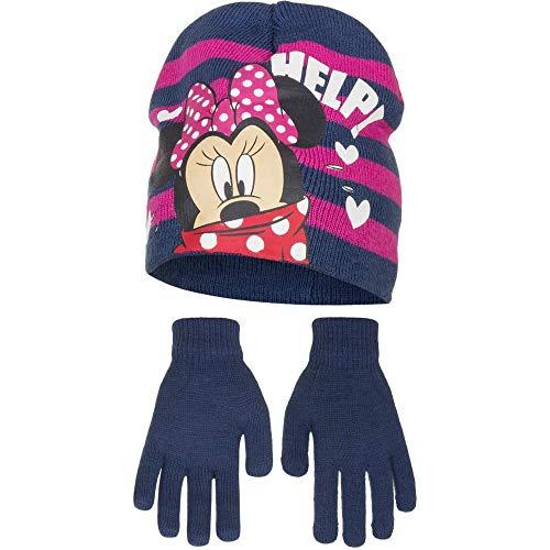 Disney Minnie Mouse Kinder/Mädchen Help Winterset (52cm) (Marineblau)
