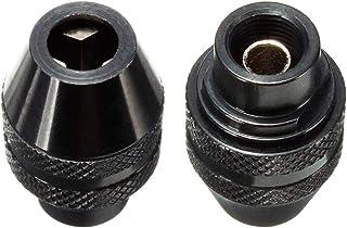 Bestgle 2 Piezas 4486 Portabrocas sin Llave Cambio para Dremel Electric Grinder Tool 0,4-3,4 mm de Metal Negro multiherram...