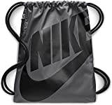 Nike Uni Heritage Trainingsbeutel, Dark Grey/Black, One Size