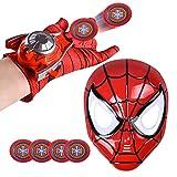 Kids Superhero Capes and LED Mask - Superhero Toys and Costume - Compatible Superhero Toys