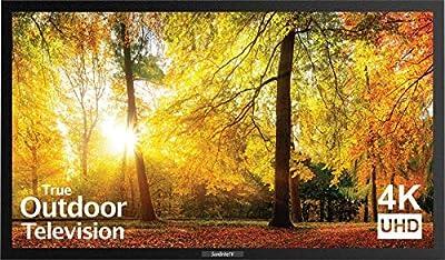 SunBriteTV SE 43-Inch Outdoor Television - 4K UltraHD LED TV - SB-SE-43-4K-BL