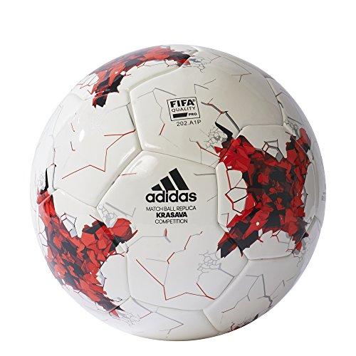 adidas Confedcomp, Pallone da Calcio Uomo, Bianco, 5