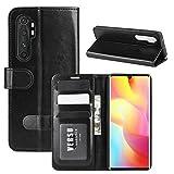 [CND] Xiaomi Mi Note 10 Lite Phone Coque, Xiaomi Mi Note 10 Lite Coque Housse Flip Cuir PU + Etui...