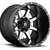 Fuel Maverick 20 Machined Black Wheel / Rim 6x135 & 6x5.5 with a -44mm Offset and a 106.4 Hub Bore. Partnumber D53720209847