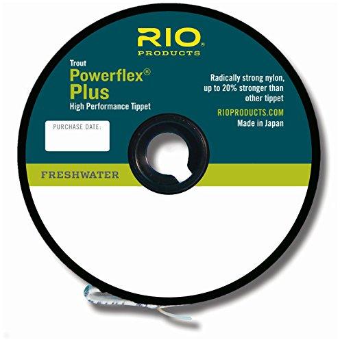 Rio Fly Fishing Tippet Powerflex Plus 4X Tippet 50Yd Fishing Line,...