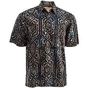 Johari West Celtic Thunder Tropical Hawaiian Mens Shirt