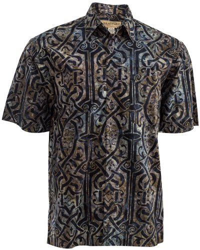 Celtic Thunder (XL) Men's Cotton Shirt, Blue, X-Large, Johari West