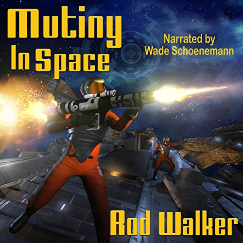Mutiny in Space audiobook cover art