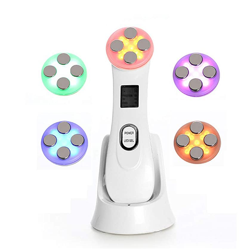 アノイ剃る驚いたアメリカのプラスチック機器EMSエレクトロポレーションRF美容機器LED肌色光剥離機美容機器