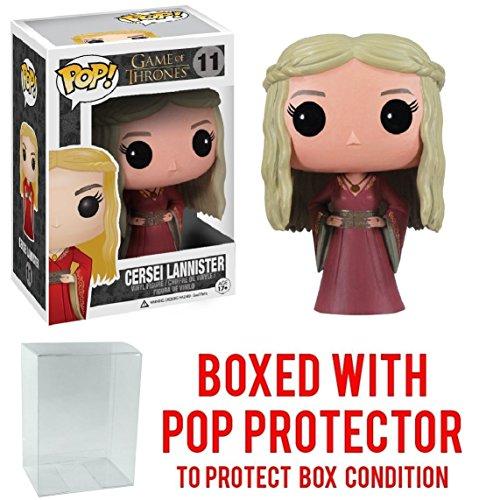 Funko Pop! Game of Thrones: GOT - Cersei Lannister #11 Vinyl Figure (Bundled with Pop Box Protector CASE)