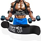 Arm Blaster for Biceps & Triceps Dumbbells & Barbells Curls Muscle Builder Bicep Isolator for Big Arms Bodybuilding & Weight Lifting Support for Strength & Muscle Gains bicep blaster arm builder