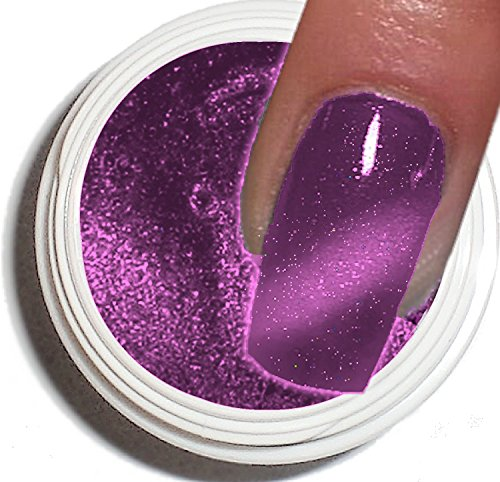 Cat Eye Gel UV 5 ml ~ ~ Violet ~ ~ haut pouvoir couvrant –. La tendance actuelle dans de modelage de l'ongle.