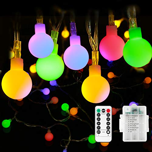 Battery Fairy Lights - Outdoor Fairy Lights [Remote & Timer] 33FT/10M...