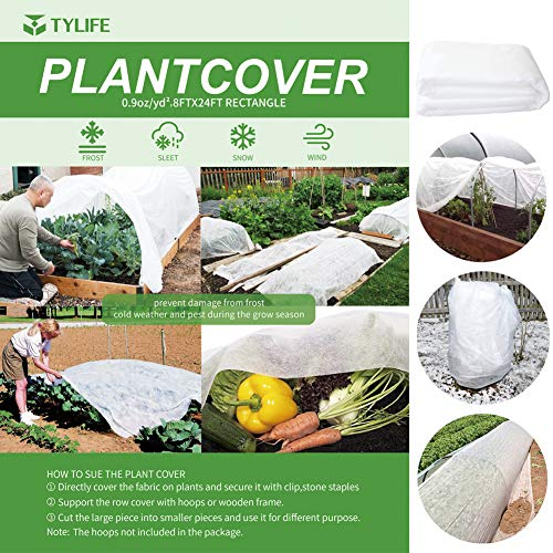 TYLife Plant Covers Freeze Protection