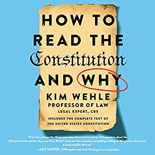 How to Read the Constitution - and Why cover art