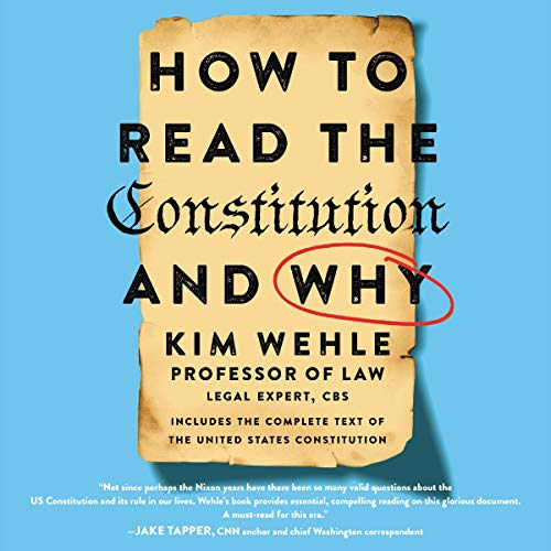How to Read the Constitution - and Why audiobook cover art