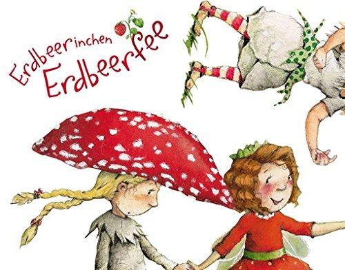 Apalis Wandtattoo Erdbeerinchen Erdbeerfee Erdbeerinchen, Ida und Eleni Sticker Set