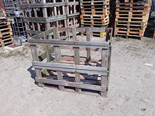 Palettenkiste Kiste Palettenbox Palette Gemüsekiste 115x145x105 cm, Mengerabatt ab 40 €, Lieferung möglich