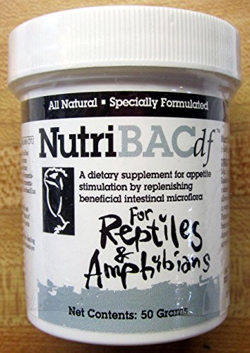 Nutribac Dietary Supplement for Reptiles & Amphibians