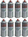 8 PEZZI - CARTUCCIA BOMBOLETTA GAS GPL 250 GR art. KCG250 IDEALE SALDATORE CANNELLO STUFETTA O FORNELLO BISTRO COMPATIBILE CAMPINGAZ BRUNNERI PRODOTTO FUNZIONANTI CON CARTUCCIA CP250 CAMPINGAZ