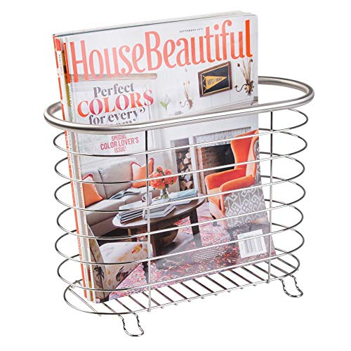 Top 10 best selling list for matthew magazine rack with toilet paper holder brushed nickel