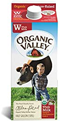 Organic Valley Whole Milk, 64 fl oz