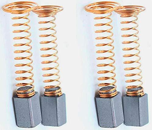 90930-04 100 215 200 275 285 300 395 595 3000 7200 Carbon Brushes Compatible with Dremel AU 4Pcs