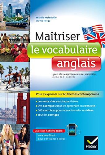 Maîtriser le vocabulaire anglais