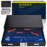 Under Bed Gun Safe - Under Bed Safe Gun Safes for Home Rifle and Pistols Under Bed Gun Safes for Rifles and Shotguns - Large Gun Safe Under the Bed Safe Rifle Safe Trunk Safe Horizontal Gun Safe