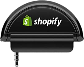SHOPIFY Card Reader (Audio-Jack Plug in, no Wires) for use with Point of Sale Systems (POS)
