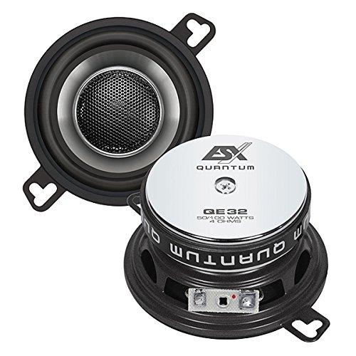 ESX qe32XLR 100W Auto-Lautsprecher–KFZ-Lautsprecher (XLR, 100W, 50W, 4Ohm, Neodym, 41mm)