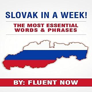 Slovak: Learn Slovak in a Week! cover art