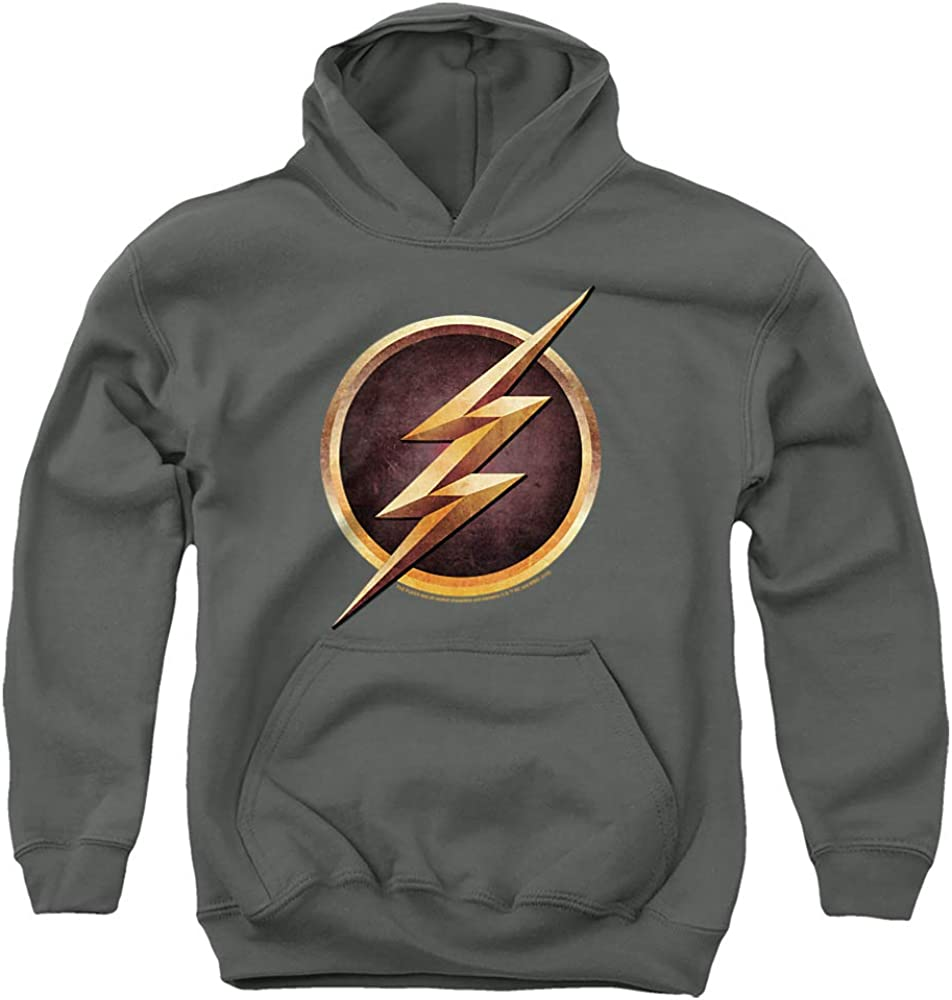 The Flash Chest Logo Unisex Youth Pull-Over Choice Gorgeous Hoodie