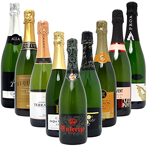ヴェリタス スパークリングワイン 本格シャンパン製法だけの厳選泡9本セット ((W0S931SE)) (750mlx9)