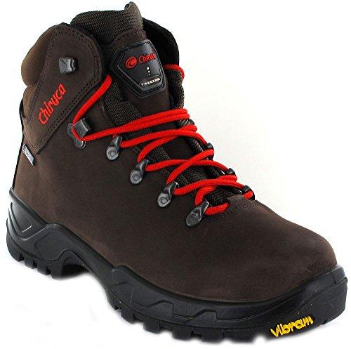 Chiruca Cares, Zapatos de Trekking Unisex Adulto, Marrón, 44 EU