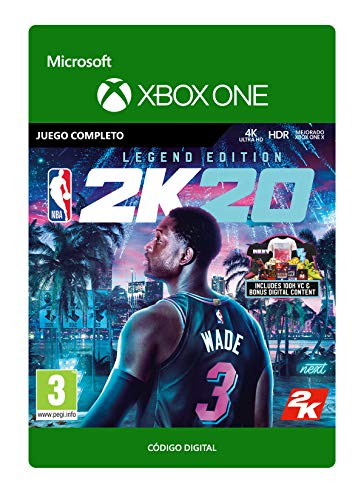 NBA 2K20: Legend Edition - Xbox One - Código de descarga