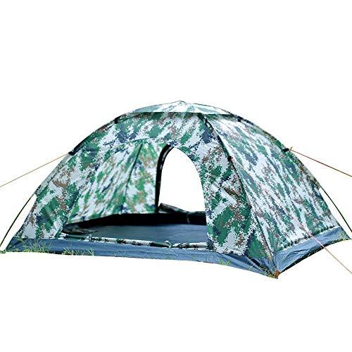 RMXMY Outdoor 2 Personen Pop Up Backpacing Zelt mit Tragetasche, 2 Türen, 4 Jahreszeiten, Leichtbau Zelt Camping Anti-Light Rain Beach Fishing