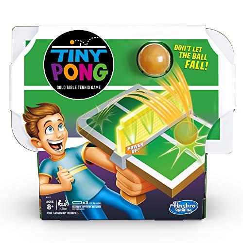 Tiny Pong Solo Tischtennis-Spiel, elektronisch, für Kinder ab 8 Jahren
