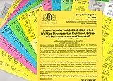 DürckheimRegister STEUERFACHWIRT/IN Steuegesetze- Richtlinien + Erlasse mit Stichworten (2020): 520 Registeretiketten (sog. Griffregister) für die ... • In jedem Fall auf der richtigen Seite