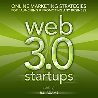 Web 3.0 Startups audiobook cover art