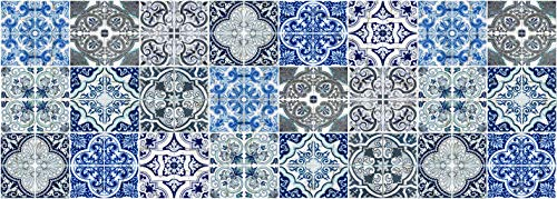 Vilber, Gran Chef Lisboa, Tappeto, Blu, 50 x 140 x 3 cm