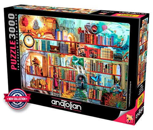 Anatolian Puzzle 3000 Teile Mystery Writers Puzzle Größe 120cmx85cm (H)