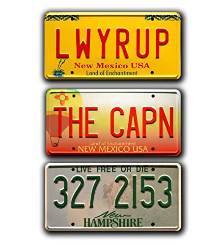 Celebrity Machines Breaking Bad | LWYRUP + THE CAPN + 327 2153 | Metallkennzeichen