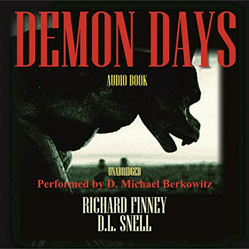 Demon Days audiobook cover art