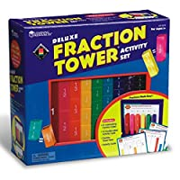 Fractionタワーセット、数学処理、GR 1–6,マルチ, Sold as 1セット