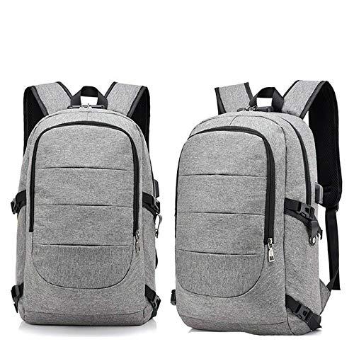 Computer Bag, Notebook School Bag, Multifunctional Business Backpack, Antitheft USB Charging, Men's Backpack