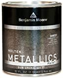 Studio Finishes Molten Metallics - Quart (Gun Smoke)