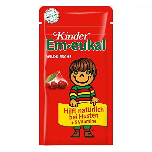 Kinder Em-eukal Wildkirsche Bonbons, 75 g Snoepjes