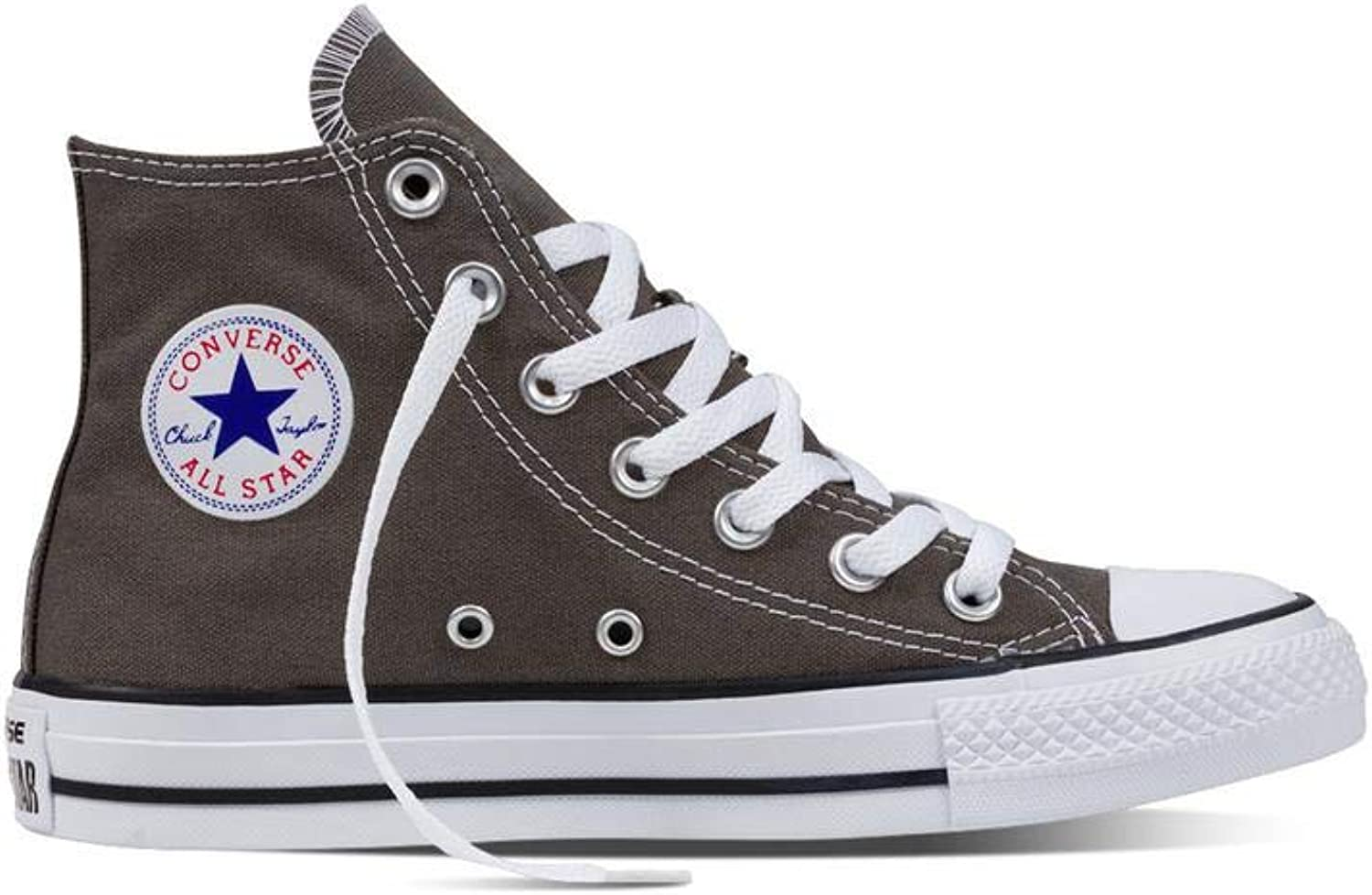 Converse Chuck Taylor All Star Seasonal Couleur Hi (12 D(M) US   14 B(M) US   46-47 EUR, Charcoal)